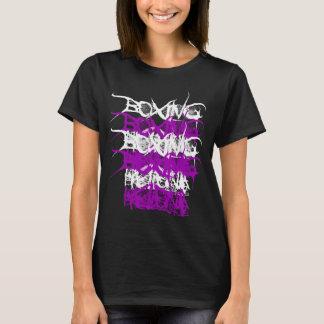 ボクシングのヘレナの層(女性)のTシャツ Tシャツ