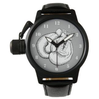 ボクシンググラブ(数字と) 腕時計