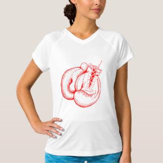ボクシンググラブ(赤いデザイン) Tシャツ
