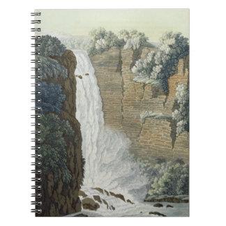 ボゴタの川、コロンビアのTequendamaの滝 ノートブック