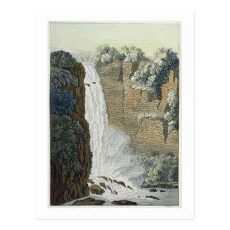 ボゴタの川、コロンビアのTequendamaの滝 ポストカード