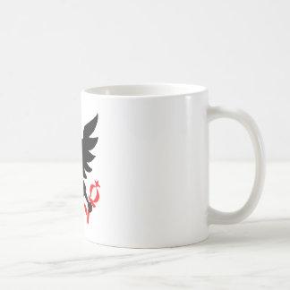 ボゴタ、コロンビアのシールの帝国ワシ コーヒーマグカップ