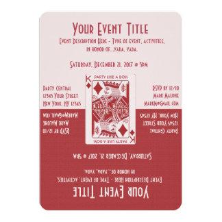 ボスのようなパーティ カード