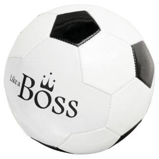 ボスのように サッカーボール