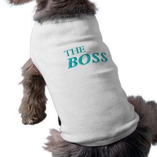 ボスのタンクトップ犬のワイシャツ ペット服