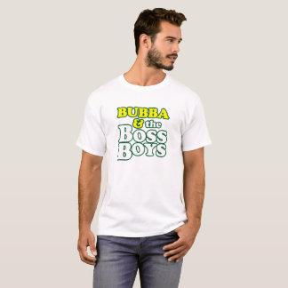 ボスのティー-緑の軽いワイシャツはかき立てます Tシャツ