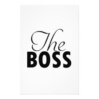 ボスのデザイン 便箋