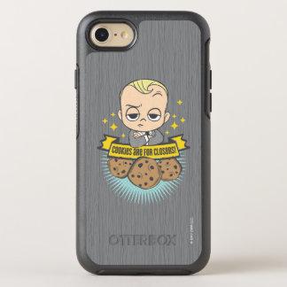 ボスのベビー|のベビー及びクッキーはClosersのためです! オッターボックスシンメトリーiPhone 8/7 ケース