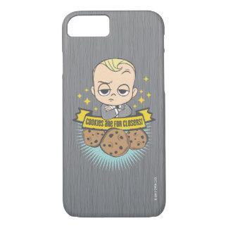 ボスのベビー|のベビー及びクッキーはClosersのためです! iPhone 8/7ケース