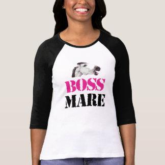 ボスのロバ3/4の袖 Tシャツ