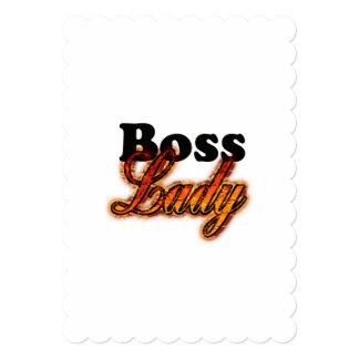 ボスの女性 カード