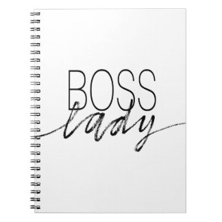 ボスの女性 ノートブック