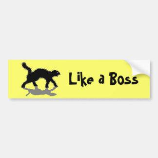 ボスの黒猫vol11のように バンパーステッカー