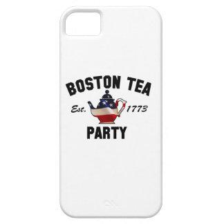 ボストンお茶会-米国東部標準時刻。 1773年 iPhone SE/5/5s ケース