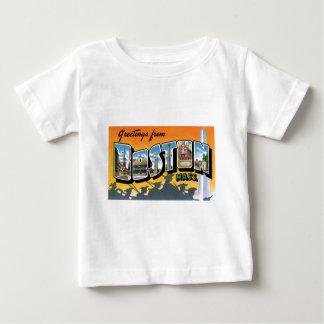 ボストンからの挨拶! ベビーTシャツ