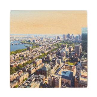 ボストンの空中写真 ウッドコースター