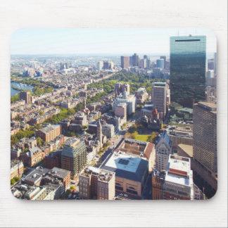 ボストンの空中写真 マウスパッド