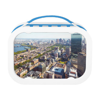 ボストンの空中写真 ランチボックス
