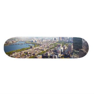 ボストンの空中写真 18.7CM ミニスケートボードデッキ