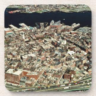 ボストンの空中写真、MA コースター