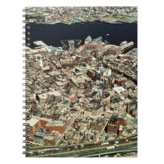 ボストンの空中写真、MA ノートブック