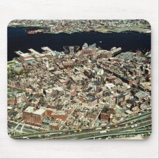 ボストンの空中写真、MA マウスパッド