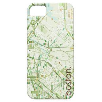ボストンはiPhoneの場合の地図を描きます iPhone SE/5/5s ケース