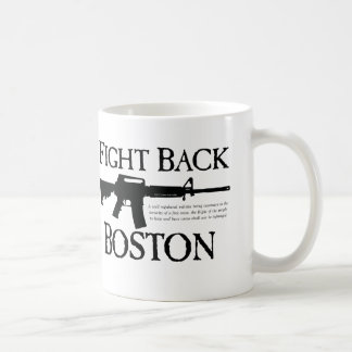ボストンを戦って下さい! コーヒーマグカップ