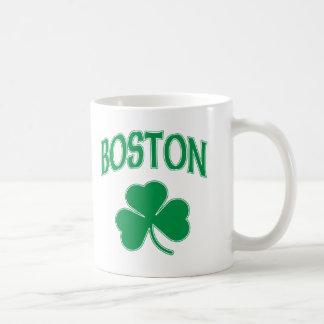 ボストンアイルランド人のシャムロック コーヒーマグカップ