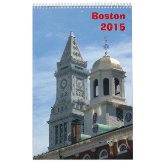ボストンカレンダー- 2015年 カレンダー