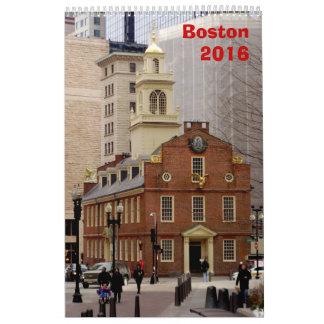 ボストンカレンダー- 2017年 カレンダー
