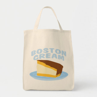 ボストンクリームパイ トートバッグ