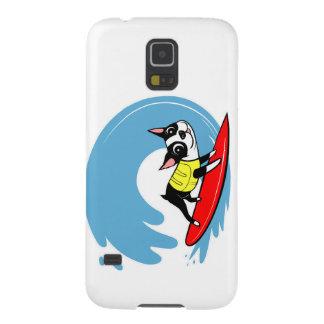 ボストンコレクションをサーフしているリリーChin Galaxy S5 ケース