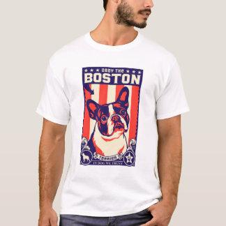 ボストンテリアに従って下さい! Tシャツ
