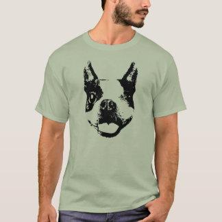 ボストンテリアのまばたき Tシャツ