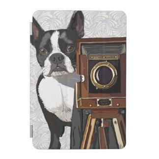 ボストンテリアのカメラマン2 iPad MINIカバー