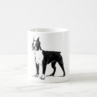 ボストンテリアのマグ コーヒーマグカップ