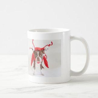 ボストンテリアのロブスターのマグ コーヒーマグカップ