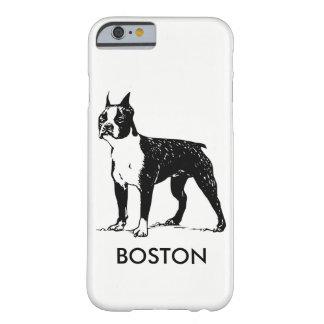 ボストンテリアの電話箱 BARELY THERE iPhone 6 ケース