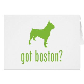 ボストンテリア カード