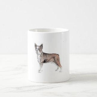 ボストンテリア コーヒーマグカップ