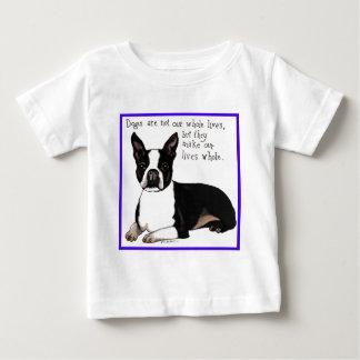 ボストンテリア ベビーTシャツ
