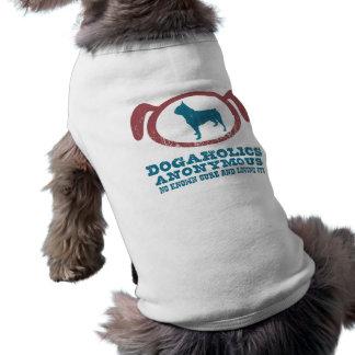 ボストンテリア 犬用袖なしタンクトップ