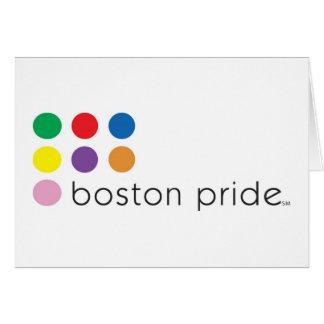 ボストンプライドの挨拶 カード