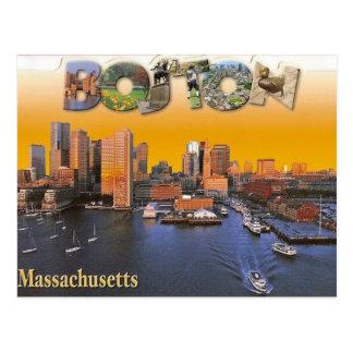 ボストンヴィンテージのレトロの郵便はがき ポストカード