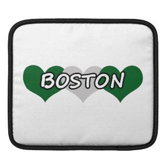 ボストン三重のハート iPadスリーブ
