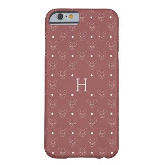 ボストン上品なテリアまたはフレンチ・ブルドッグのiPhoneの場合 Barely There iPhone 6 ケース