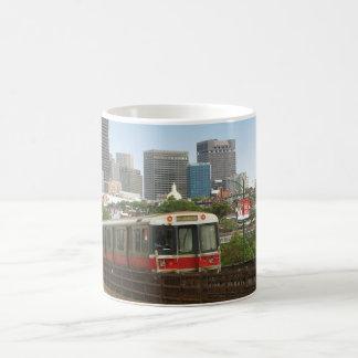 ボストン列車 コーヒーマグカップ
