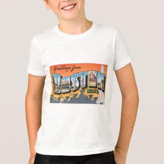 ボストン固まりからの挨拶。、ヴィンテージ Tシャツ
