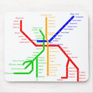 ボストン地下鉄のマウスパッド マウスパッド